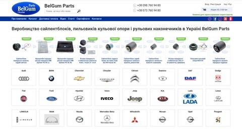 Створення інтернет-магазину для виробника автозапчастин